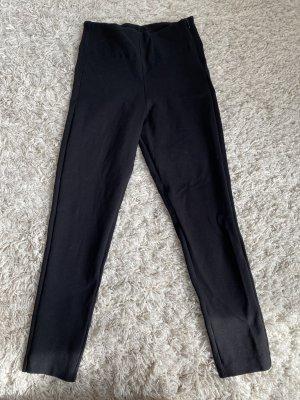 Benetton Spodnie ze stretchu czarny