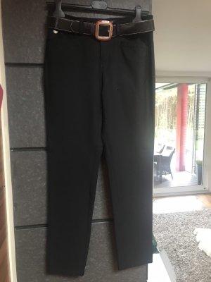 Basler Sport Spodnie ze stretchu czarny