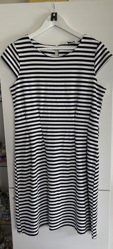 Zabaione Stretch Dress white-black