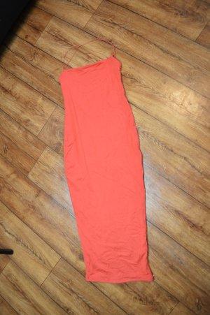Strechkleid in Orange Gr. 36 von Oh Polly