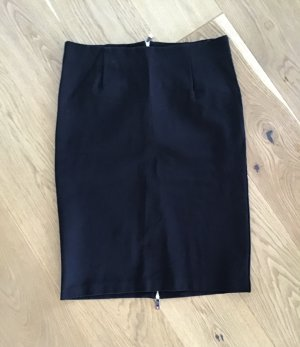 Reserved Spódnica midi czarny