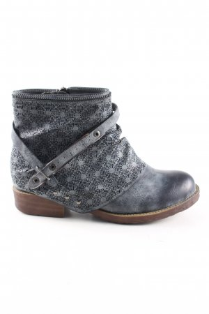 Street Booties blau Casual-Look