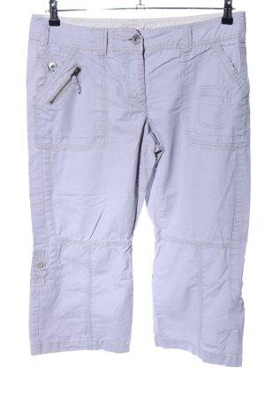 Street One Pantalon 3/4 gris clair style décontracté