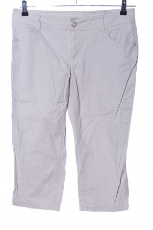 Street One 3/4 Length Trousers light grey casual look