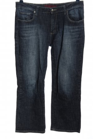 Street One 3/4 Length Jeans blue flecked casual look