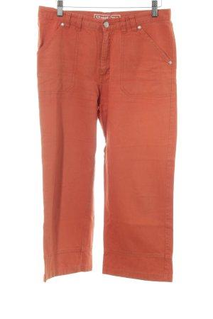 Street One 3/4 Jeans dunkelorange Casual-Look