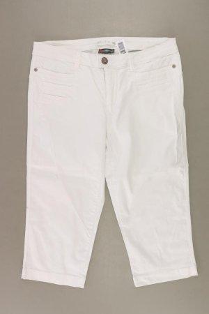 Street One Jeansy 3/4 w kolorze białej wełny Bawełna