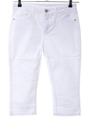 Street One Jeansy 3/4 biały W stylu casual