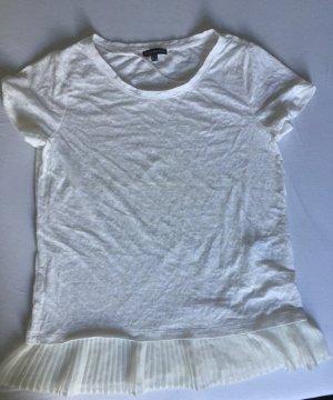 Street One T-Shirt white-cream modal fibre