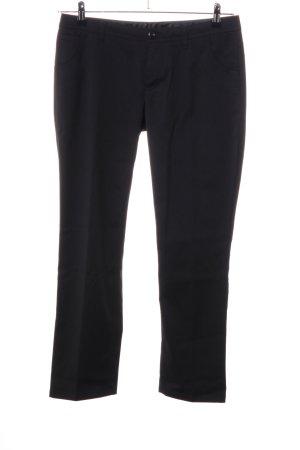 Street One Pantalón tobillero negro estilo «business»