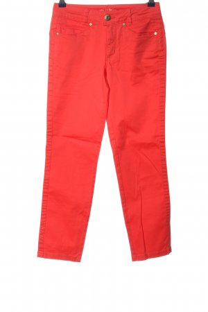 Street One Pantalone a 7/8 rosso stile casual