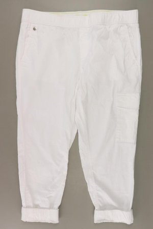 Street One 7/8 Length Trousers natural white cotton