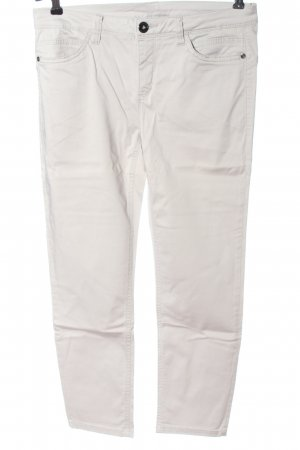 Street One 7/8 Length Trousers white casual look
