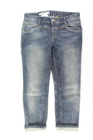 Street One 7/8 Jeans Größe W28 blau aus Baumwolle