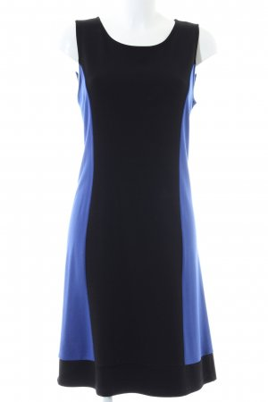 Street One Robe trapèze noir-bleu style décontracté