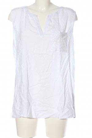 Street One Top linea A bianco stile casual