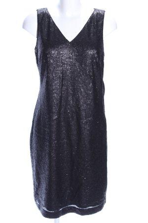 Street One Abendkleid schwarz Glitzer-Optik