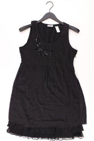 Street One Abendkleid Größe 40 Träger mit Pailletten schwarz