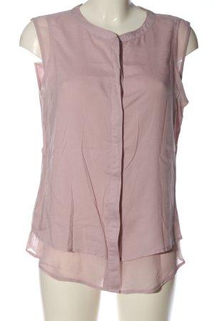 Street One ärmellose Bluse pink Business-Look