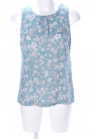 Street One ärmellose Bluse Blumenmuster Casual-Look