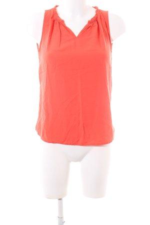 Street One Blouse sans manche orange clair style d'affaires