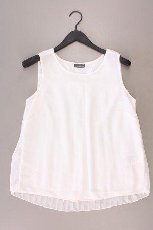 Street One Ärmellose Bluse Größe 40 weiß aus Polyester