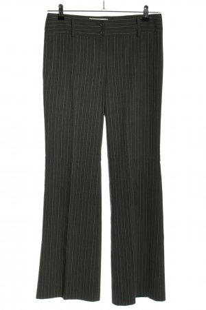 Street One Suit Trouser light grey striped pattern business style