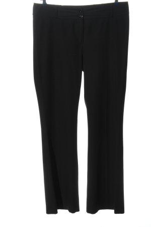 Street One Spodnie garniturowe czarny W stylu biznesowym