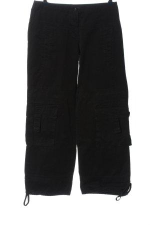 Street One Pantalón abombado negro look casual