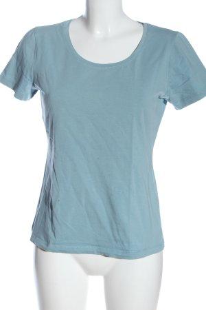Street One Koszulka basic niebieski Melanżowy W stylu casual