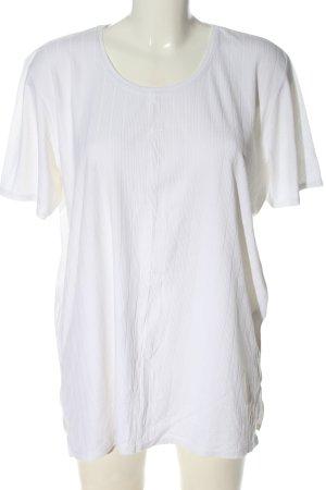 Street One Koszulka basic biały W stylu casual