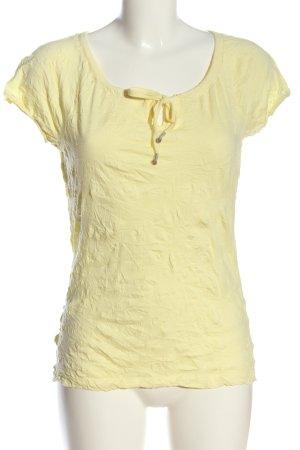 Street One Koszulka basic bladożółty W stylu casual