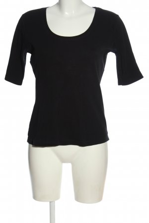 Street One Koszulka basic czarny W stylu casual