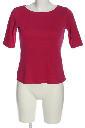 Street One Koszulka basic czerwony W stylu casual