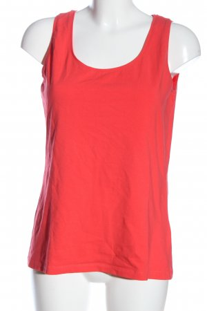 Street One Basic topje rood casual uitstraling