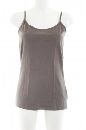 Street One Basic topje bruin casual uitstraling