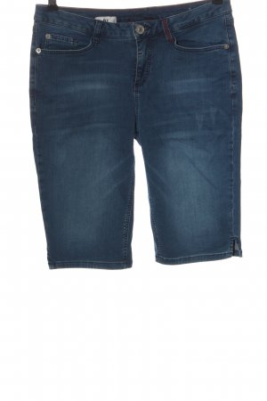 Street One Bermuda azul look casual