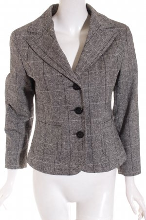 Street One Blazer grau Karomuster Business-Look