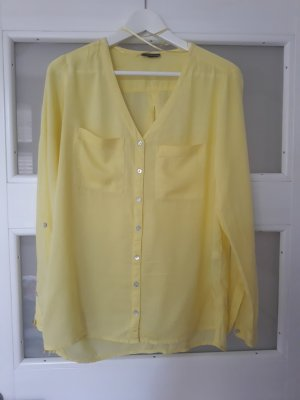 Street One Transparent Blouse yellow