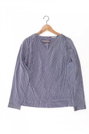 Street One Bluse blau Größe 40