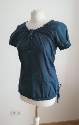 Street One Carmen blouse petrol-groen