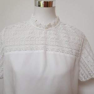 Street One Blusa in merletto bianco