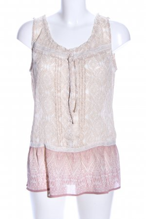 Street One Blusentop creme-pink Mustermix Casual-Look