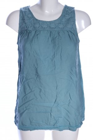 Street One Blusentop blau Casual-Look