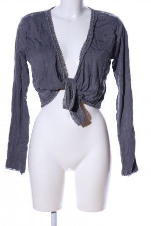 Street One Bolero blau Casual-Look
