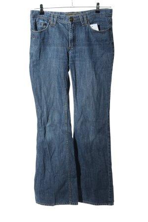 Street One Boot Cut Jeans blau Casual-Look