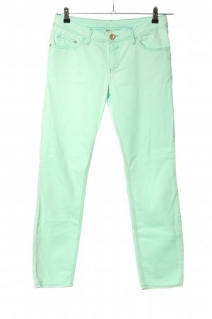 Street One Boot Cut Jeans turquoise casual look