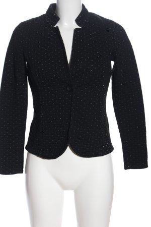 Street One Boyfriend blazer zwart quilten patroon elegant