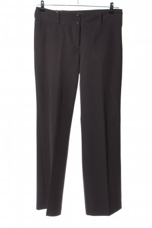 Street One Bundfaltenhose braun Business-Look