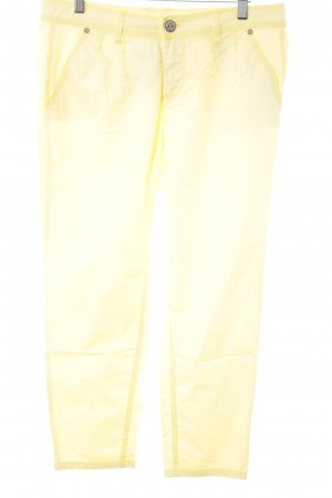 Street One Caprihose gelb-hellgelb extravaganter Stil